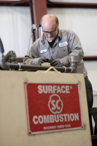 Surface Combustion