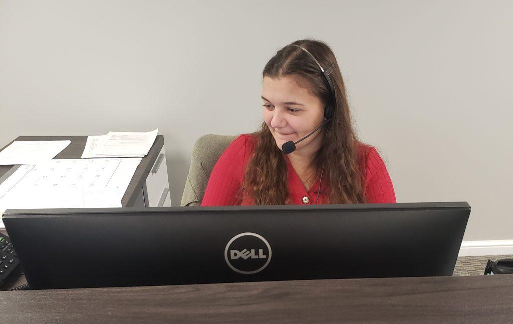 Jessica at Cardinal Staffing