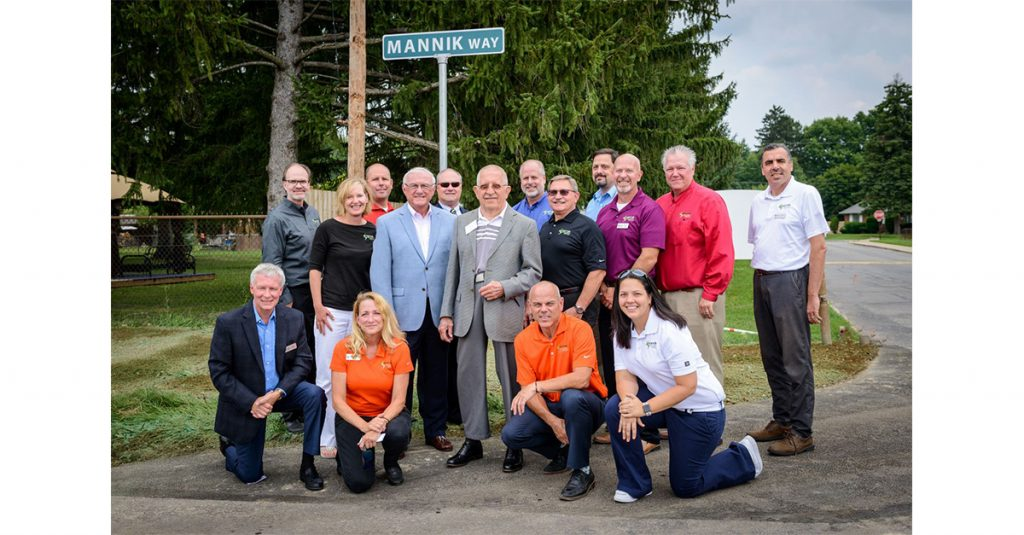 Mannik Way Dedication