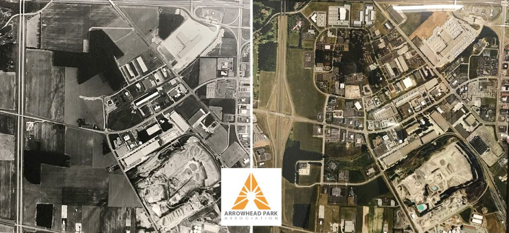 Arrowhead Park Then and Now